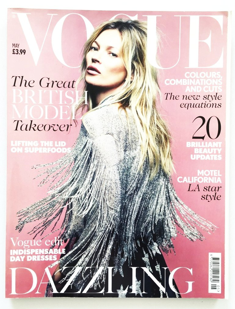 Časopis UK VOGUE s Kate Moss