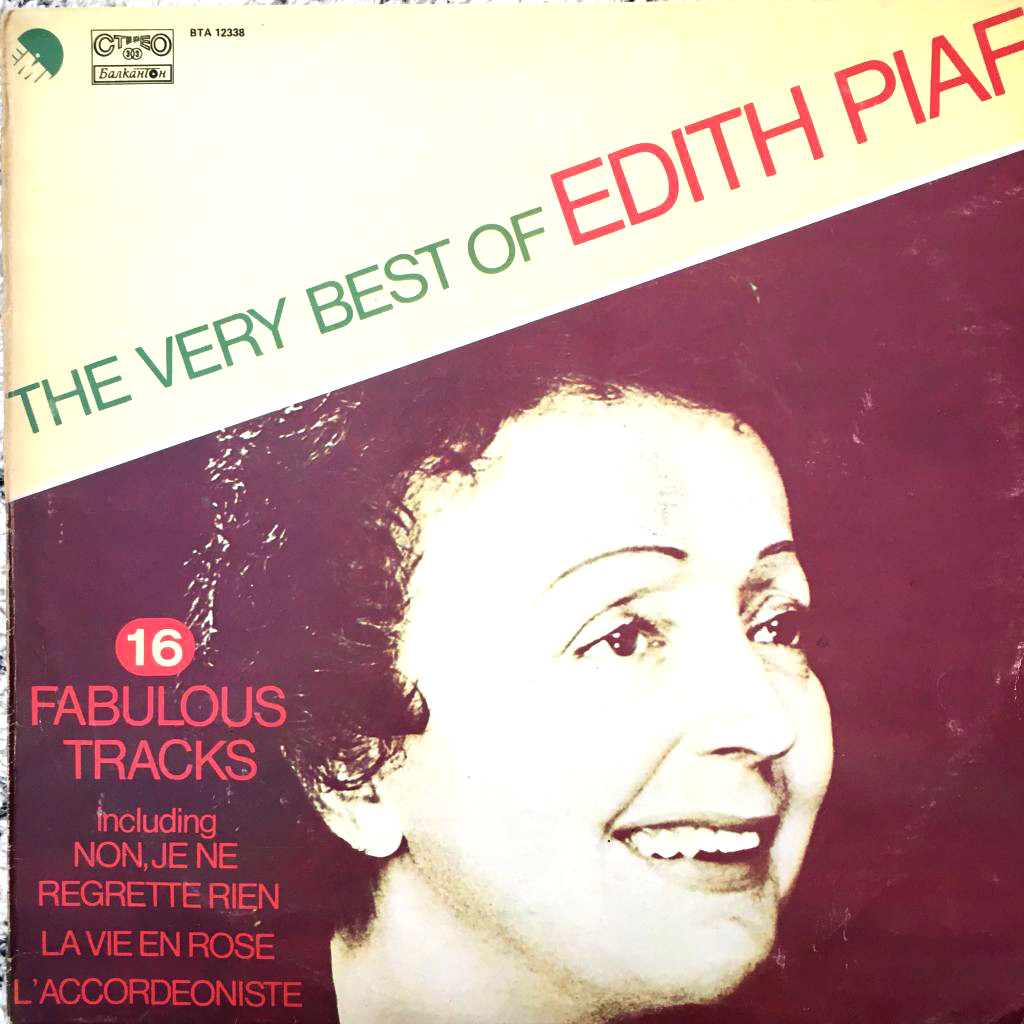 LP deska Best of Edith Piaf