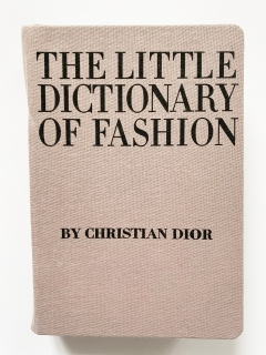 "Kabelka ""kniha"" The Little Dictionary of Fashion by Christian Dior"